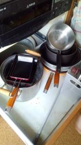 IH調理器具周辺のアレルギー対策掃除01